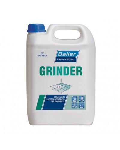 Detergente Sgrassatore Concentrato per Pavimenti Grinder 6 kg Bailer