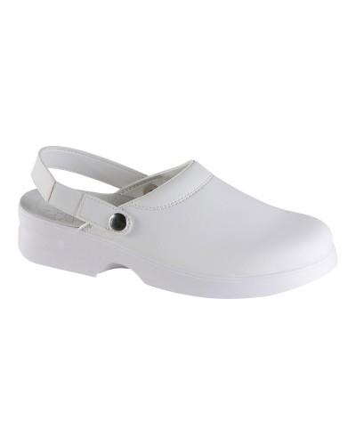 Zoccolo Light Antiscivolo Bianco con cinturino Exena