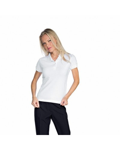 Polo Donna Stretch Bianca