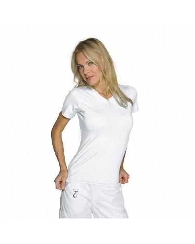 Maglietta donna Stretch Bianca cotone Isacco