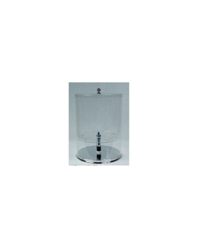 Cilindro Plex Alto 34 Cm Diam. 25 Cm Alluminio
