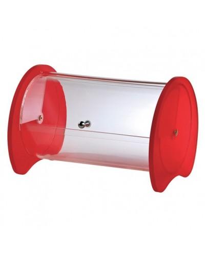 Porta Palette Cilindro Rosso