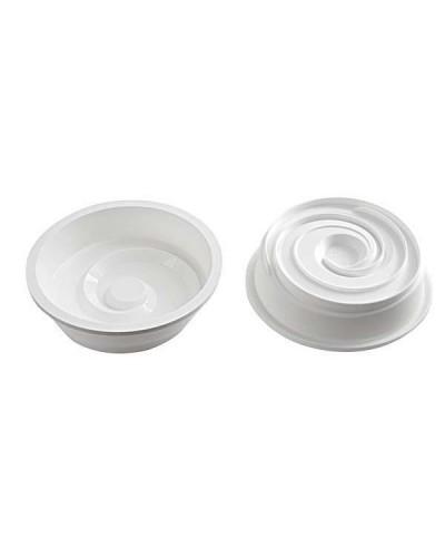 Vortex Stampo In Silicone Cm 180 H 48 Mm Bianco