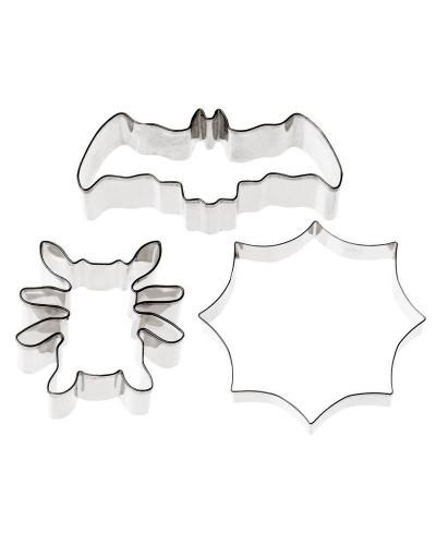Set 3 Tagliapasta Halloween 11x10,7 cm Acciaio Inox Sambonet Paderno
