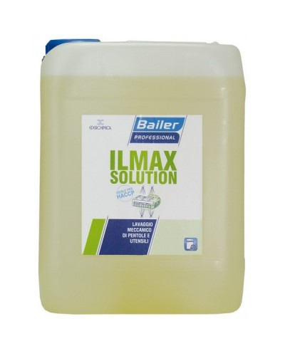 Ilmax Solution 12 Kg Detergente Pentole e Utensili