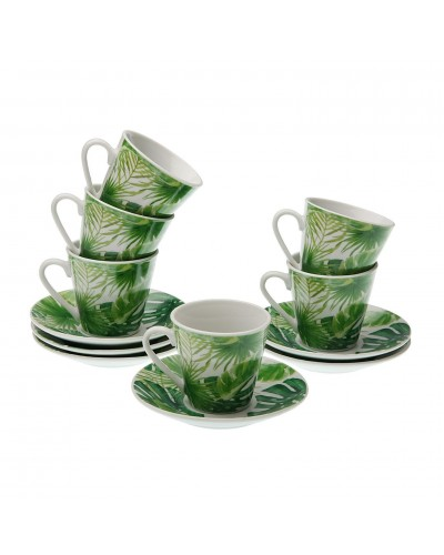 Set 6 Tazzine Caffe New Lea Verde