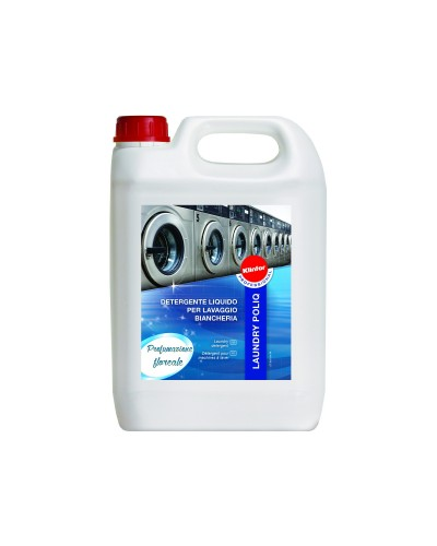 Detergente Lavatrice Industriale Enzimatico PoliQ 5 kg Klinfor