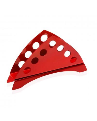 Portatovaglioli Triangolare Rosso