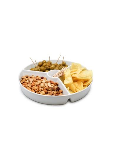 Piatto Aperitivo Snack Scomparti