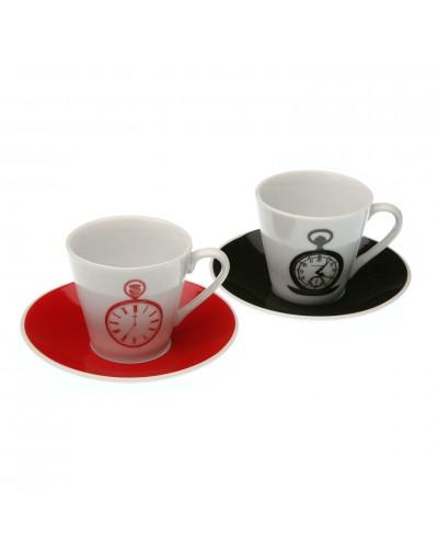 Set 2 Tazze Caffè Time
