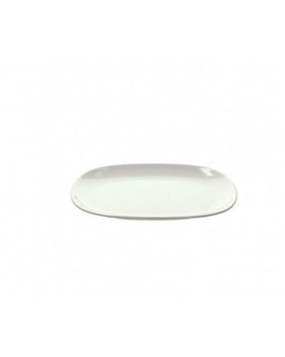 Vassoio Melamina Ovale Bianco 29x20 cm Tognana