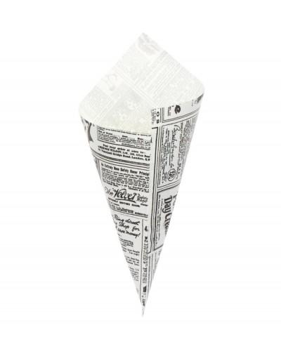 Cono Carta Fritti Journal - Confezione da 250 pz