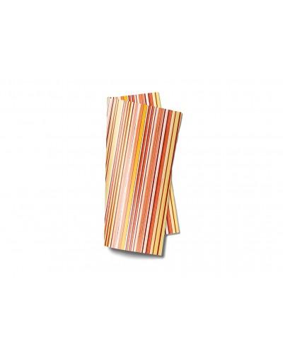 Tovagliolo Linea Trend Traccia Orange 38x38 cm 40 pz Infibra