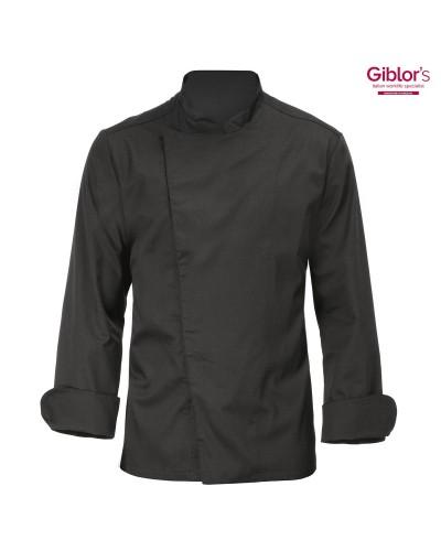 Giacca Cuoco Mirko Nero Giblor's