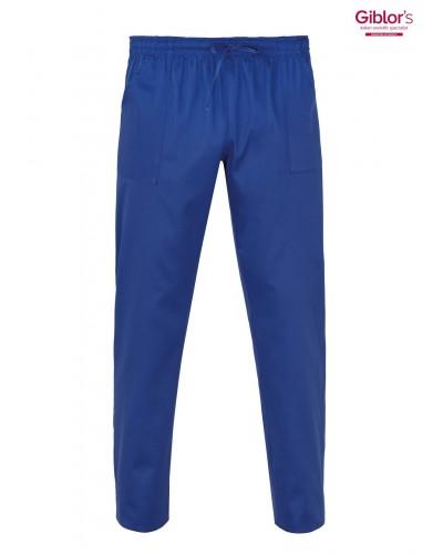 Pantalone Cuoco Rodi Bluette con elastico Giblor's