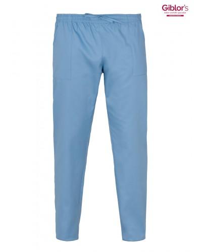 Pantalone Cuoco Rodi Azzuro con elastico Giblor's