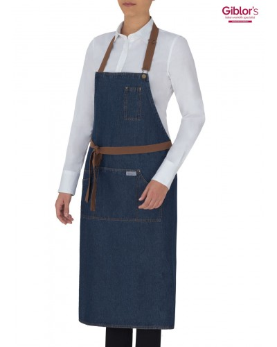 Grembiule Cameriere Douglas Blu Jeans Giblor's