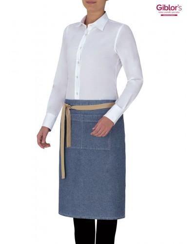 Grembiule Cameriere Windsor Blu Jeans Giblor's