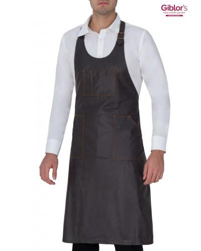 Grembiule Cameriere York Marrone Giblor's