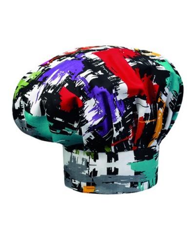 Cappello Cuoco Graphic Colorato Egochef