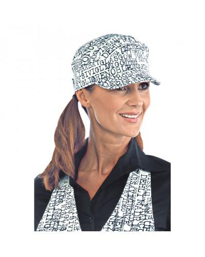 Cappello Unisex Sam New York Bianco cotone Isacco