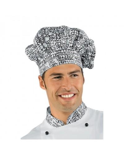 Cappello Cuoco New York Bianco Regolabile in cotone Isacco