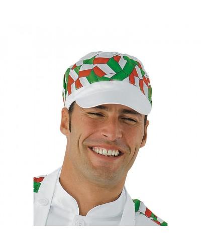 Cappello Charly Bianco e Italy