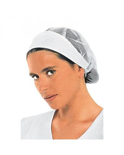 Cuffia Donna Bianca Con Rete
