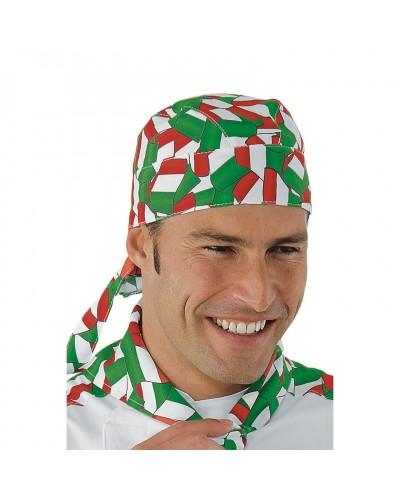 Bandana Unisex Italy Tricolore Isacco