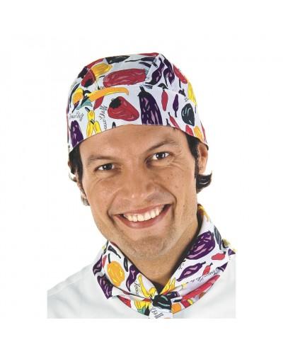 Bandana Unisex Pepper con stampa peperoni colorati Isacco