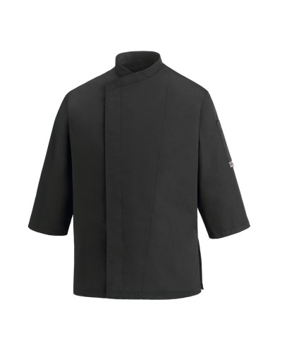 Giacca Cuoco Sleeves Black Nera manica 3/4 Egochef