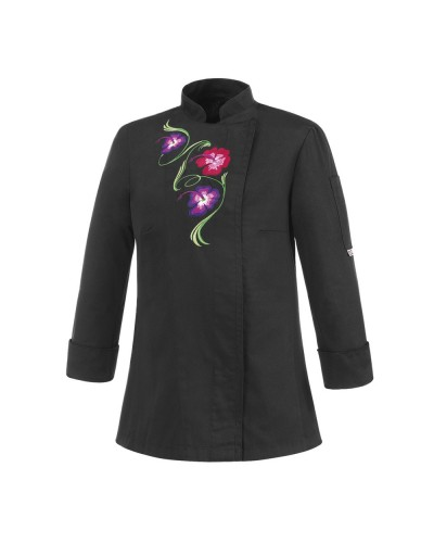Giacca Flowers Black