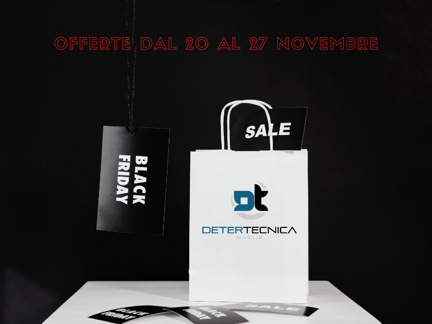 Black Friday 2020 - Detertecnica