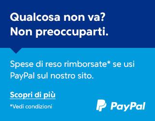 Servizio Reso Gratuito Paypal - Detertecnica